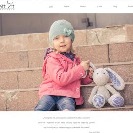 anett-art.pl - responsywna strona www - projekt graficzny; galeria; optymalizacja SEO;