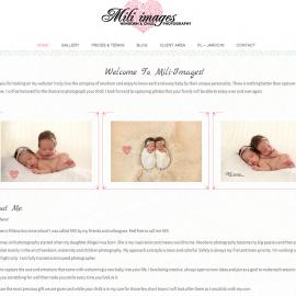 miliimages.eu - responsywna strona www - projekt graficzny; galeria; optymalizacja SEO; kampania SEM (AdWords)
