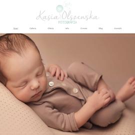 kasiaolszewska.pl - responsywna strona www - projekt graficzny; galeria; optymalizacja SEO;