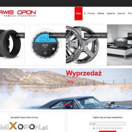 serwisoponlodz.pl - responsywna strona www - projekt graficzny; galeria; optymalizacja SEO; newsletter