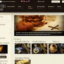 manufakturamojejmamy.pl - strona www i sklep internetowy - galeria; optymalizacja SEO; mapa punktów sprzedaży; kampania SEM (AdWords)