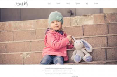 anett-art.pl - responsywna strona www - projekt graficzny, galeria, optymalizacja SEO;