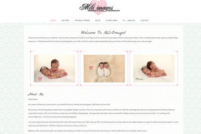 miliimages.eu - responsywna strona www - projekt graficzny, galeria, optymalizacja SEO, kampania SEM (AdWords);