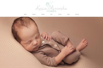 kasiaolszewska.pl - responsywna strona www - projekt graficzny, galeria, optymalizacja SEO;