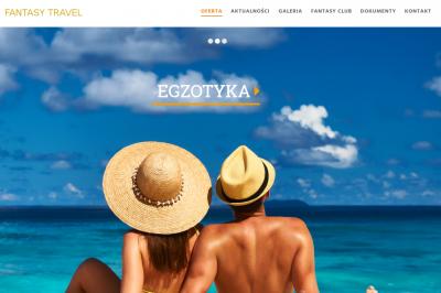 fantasy.gda.pl - responsywna strona www - projekt graficzny, galeria, optymalizacja SEO;