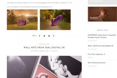 victoriasphotos.uk - responsywna strona www - projekt graficzny, galeria, optymalizacja SEO;